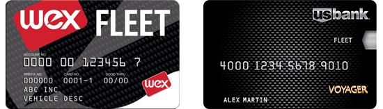 wex fleet card vs voyager fleet card on paper - Voyager Fleet Card