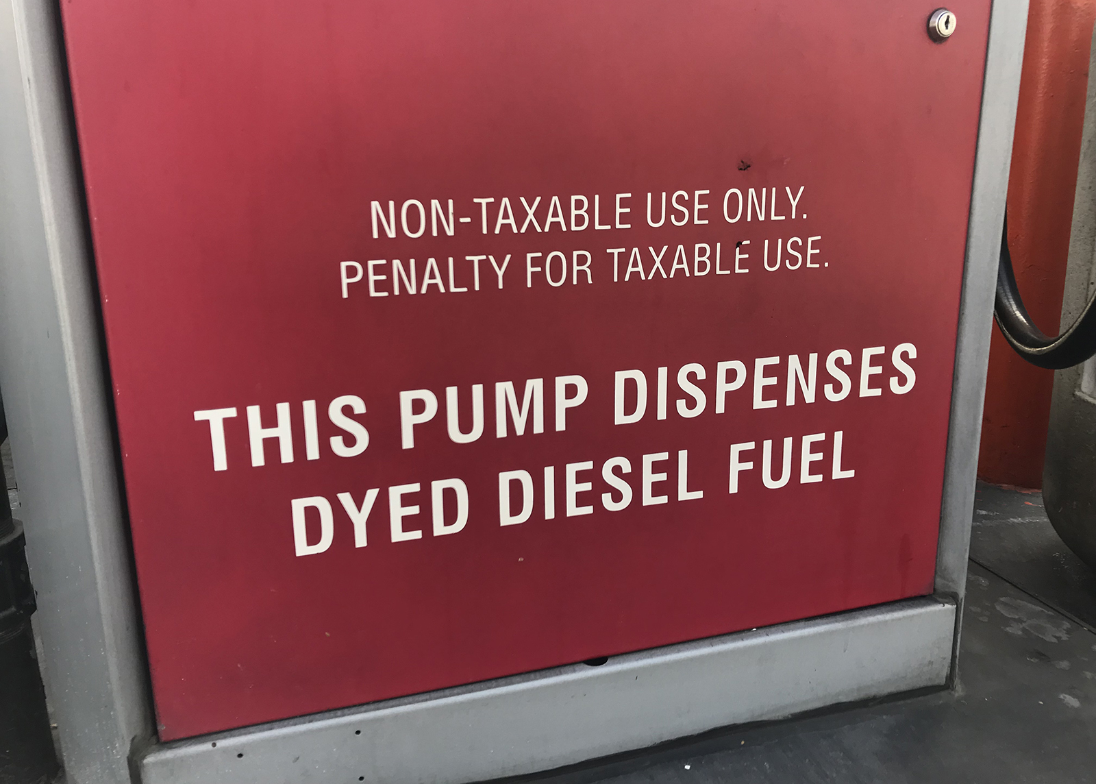 Off Road Diesel >> The Ultimate Guide To Purchasing Red Dyed Diesel In Texas